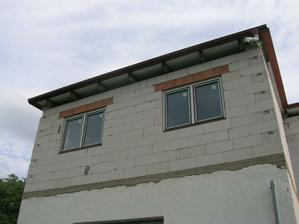 střecha nad domem hotova