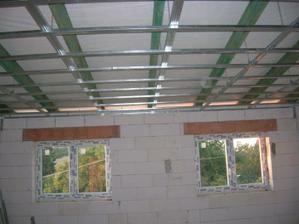tvoří se stropy
