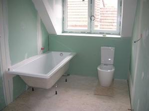 začínáme tvořit koupelnu