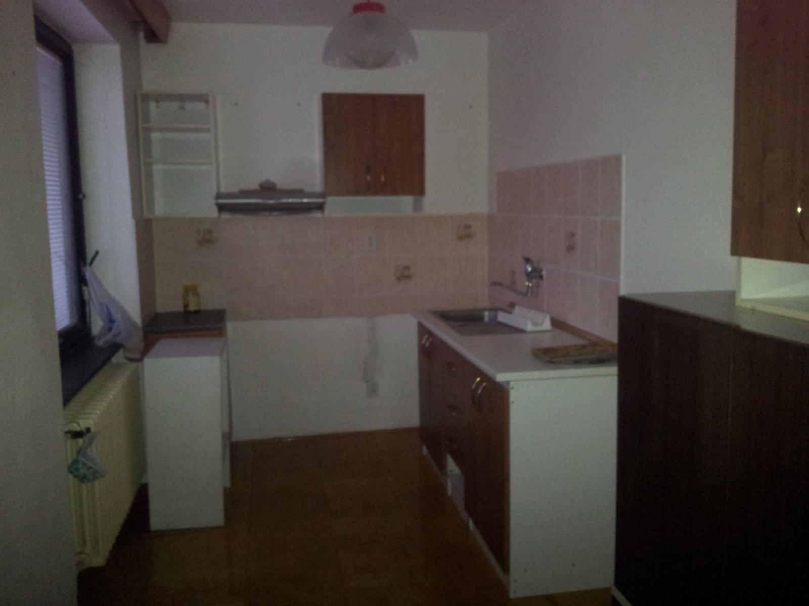 Naša rekonštrukcia - Kuchyňa II - budúca kúpeľňa