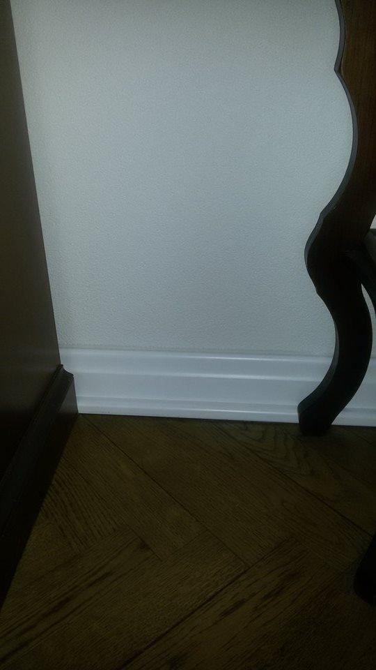 Naša rekonštrukcia - Vysoke biele listy, niekedy sa oplati tvrdohlavo si presadzovat svoje :)