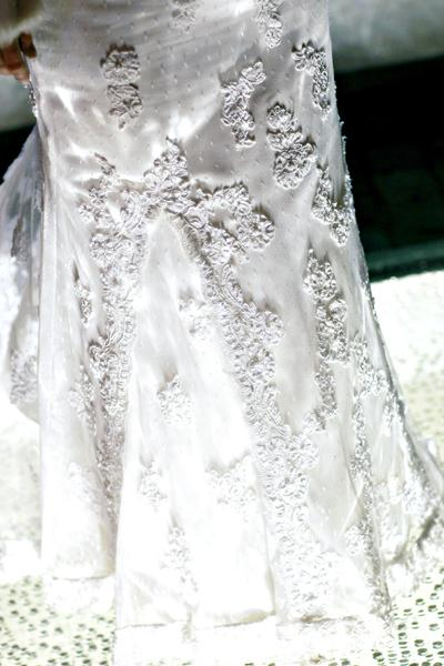 Zopar detailov svadby - detail mojich siat :)