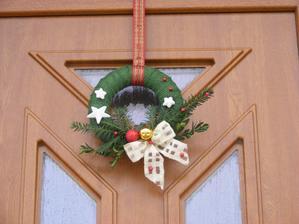 Výzdoba na dveřích