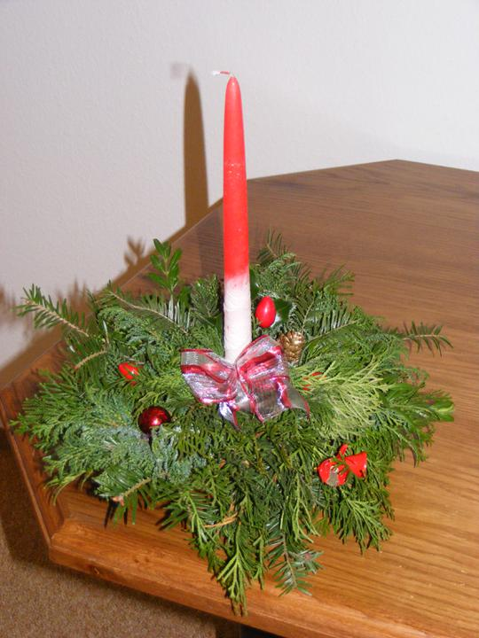 Zařizujeme NOVU 101 - vánoční výzdoba