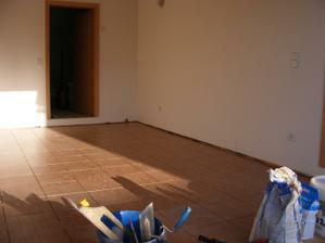 Děláme podlahu v garáži