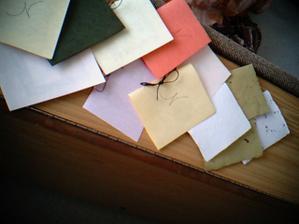 pranicka jsou z rucniho papiru a i s masle je z rucniho papiru