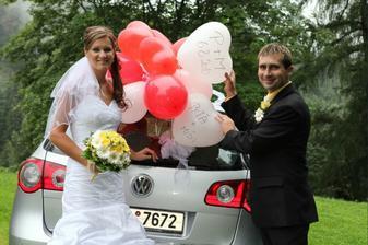 Ženichovo a nevěsty odvoz