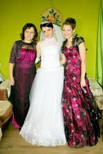 s maminkou a sestričkou