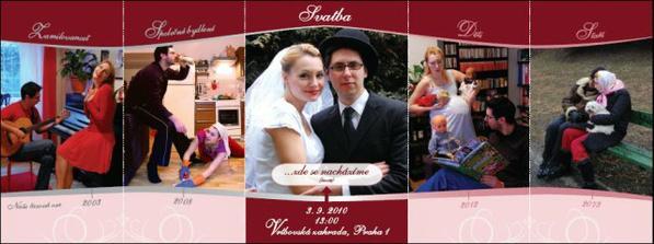 Naše svatební oznámení...otevřené