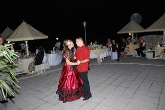 prvý tanec po polnoci