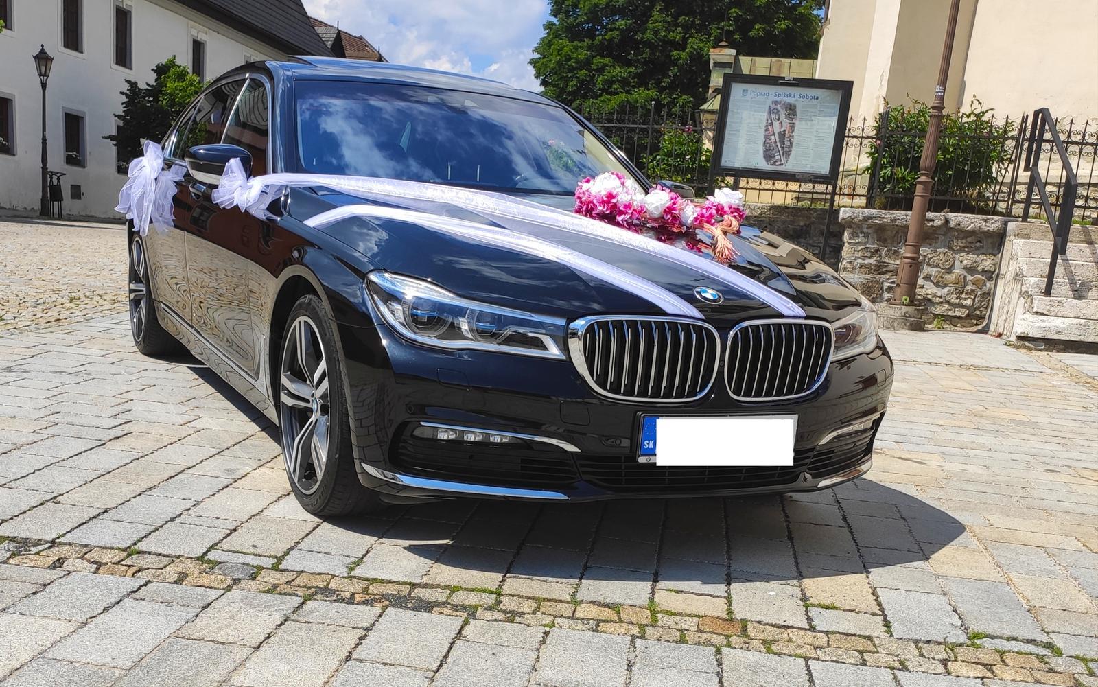 Svadobné auto BMW 730ld xdrive - Obrázok č. 1