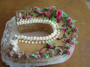 vedlejší dort (ani se nenačal)