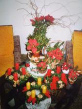 vánoční dekorace a věnce asi před 3 lety