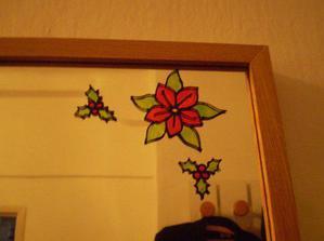 dekorace zrcadla
