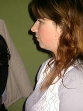 Lenička z profilu:-)
