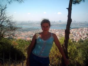 Na výletě 8/2006 v Istanbulu. Uff bylo tam vedro!