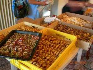 koláčky...bylo jich celkem 750 ks