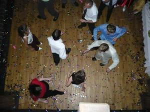 konfety byly uplne vsude :)