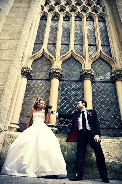 Detailiky nasej svadby 13.9.2008 - moje svadobne saty - americky dizajner Kenneth Pool - detailnejsi zaber budem mat neskor, tak pridam neskor ...