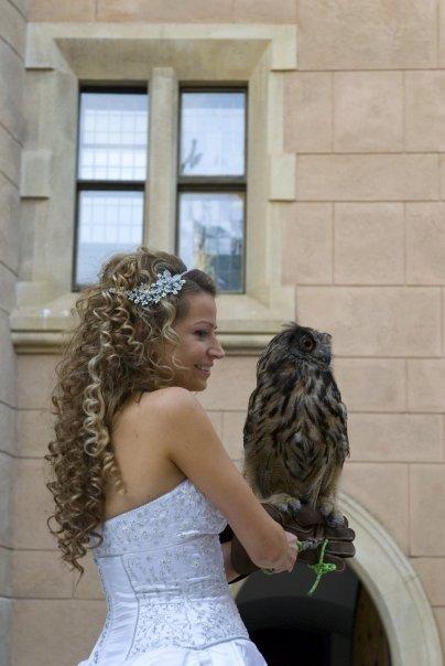 Detailiky nasej svadby 13.9.2008 - moj svadobny uces ... bol to kuceravy organizovany chaos ... ;-)