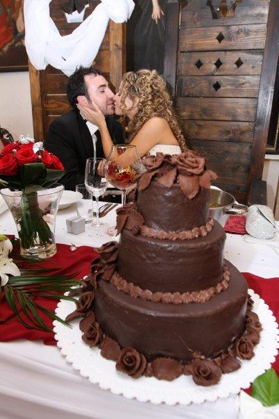 Detailiky nasej svadby 13.9.2008 - ... a cokoladova