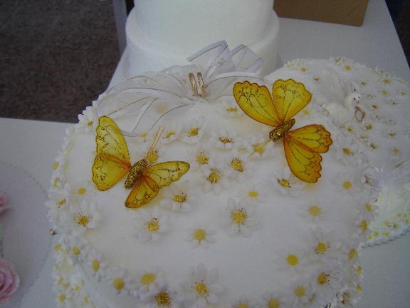 Naša svadba 2.jún 2007 - objednaná tortička