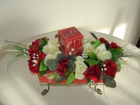 Naša svadba 2.jún 2007 - mnou vyrobená ikebana