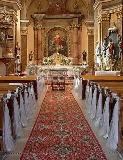 Naša svadba 2.jún 2007 - náš kostol