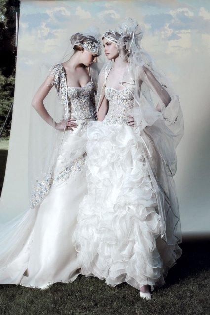 Šatočky - pripomína mi to spodné prádlo pod svadobné šaty, takú spodničku nie?!