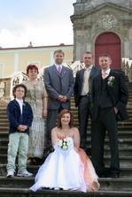 s manželovými bratry a mojí úžasnou kamarádkou