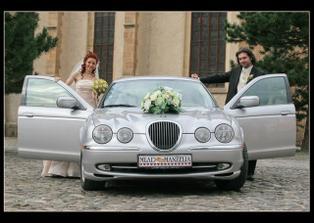 Nase svadobne auto...