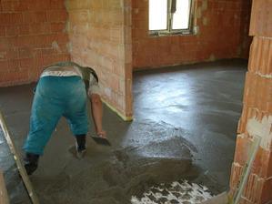 Zalievanie podlahového kúrenia