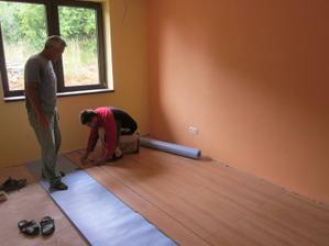 Tamarkina detská izba - tiež sa kladie plávajúca podlaha