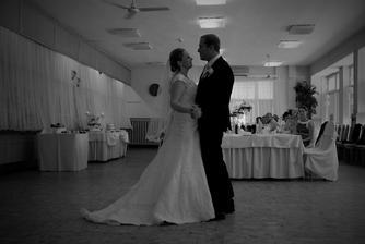 prvý manželský tanček :-)