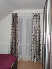nová záclona a závěs