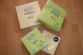 ubrousků máme taky pár balíků :-)