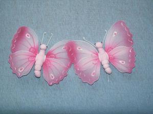 mojí motýlci na výzdobu...