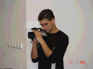náš hlavní kameraman...:-)