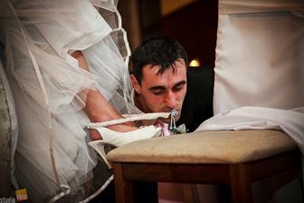 a svadobného podväzku ;-)