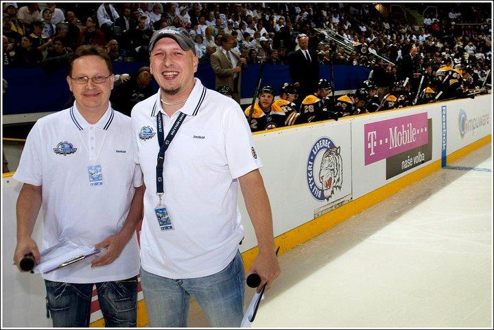 primaparty - Moderování utkání NHL týmu Boston Bruins vs. Bílí Tygři Liberec