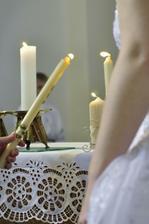 zapálení společné svíce