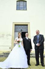 foto s knězem