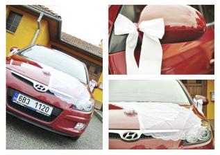 auto nevěsty a později novomanželů