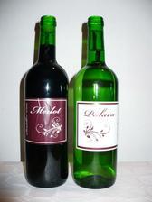 svatební vínko