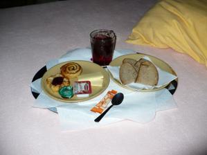 snídaně až do postýlky