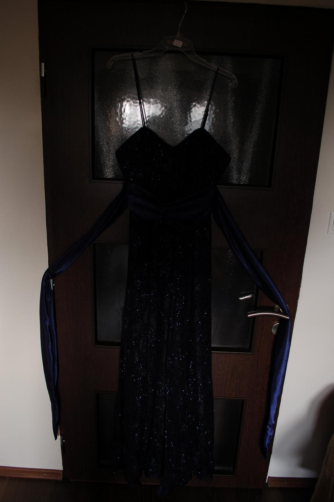 Plesové šaty- 1x oblečené - Obrázok č. 2