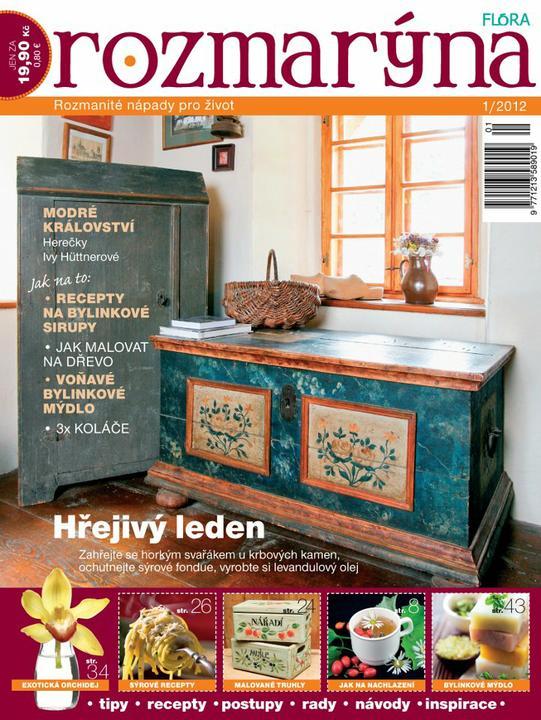 ***Pomóóóc!***Prosím, má niekto časopis ROZMARÝNA, konkrétne číslo 1/2012 a predal by mi ho? - Obrázok č. 1