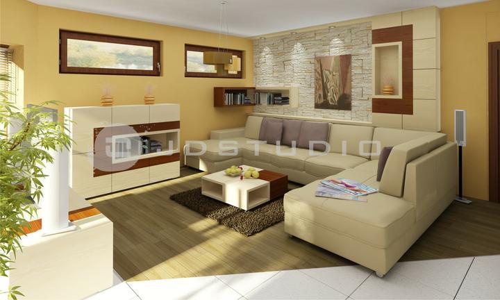 Projekt obývacej izby Topoľčany - Obrázok č. 3