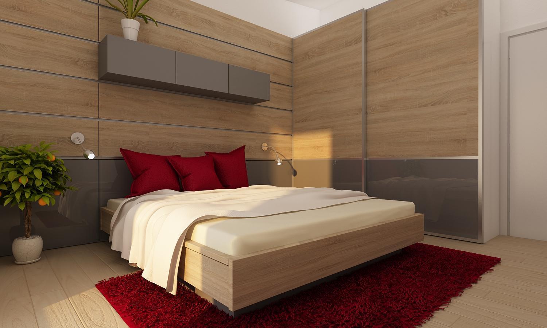 Štýlový rodinný dom na kľúč od 39.999 EUR s DPH. - spálňa