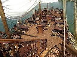 """"""" Pirátska téma """" - miesto svadobného obradu (samozrejme bez stolov :-)"""
